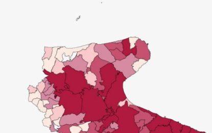 Covid, in Puglia oggi 404 nuovi positivi e 8 decessi. Nel Foggiano 74 casi