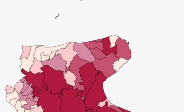 Covid, in Puglia oggi 554 nuovi positivi e 31 decessi. Nel Foggiano 101 casi e 5 morti