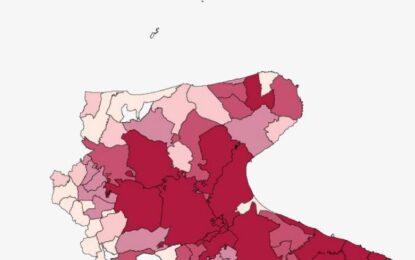 Covid, in Puglia oggi 21 decessi e 407 nuovi positivi. Nel Foggiano 24 casi e 2 morti