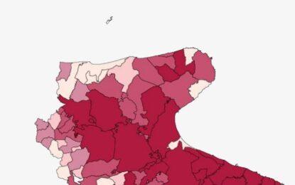 Covid in Puglia, oggi 1.171 nuovi positivi e 12 decessi. Nel Foggiano altri 123 casi e 3 morti