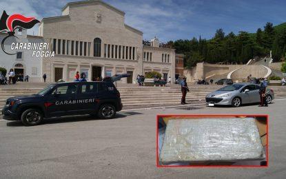 In auto con oltre un chilo di cocaina: arrestata 43enne a San Giovanni Rotondo