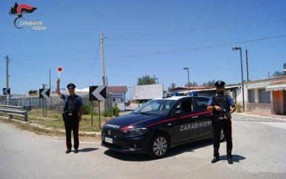 Cagnano Varano, si minacciano in pubblico: 2 denunciati e sottoposti al ritiro delle armi