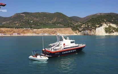 Barca in avaria, Carabinieri soccorrono diportisti alle Isole Tremiti